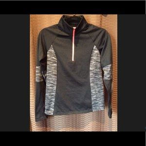 Active Heathered 1/2 Zip Pullover